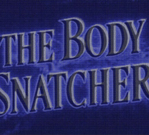 <i>The body snatcher</i>, Gaël Peltier